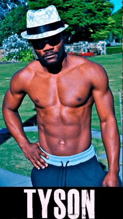 Male stripper Tyson