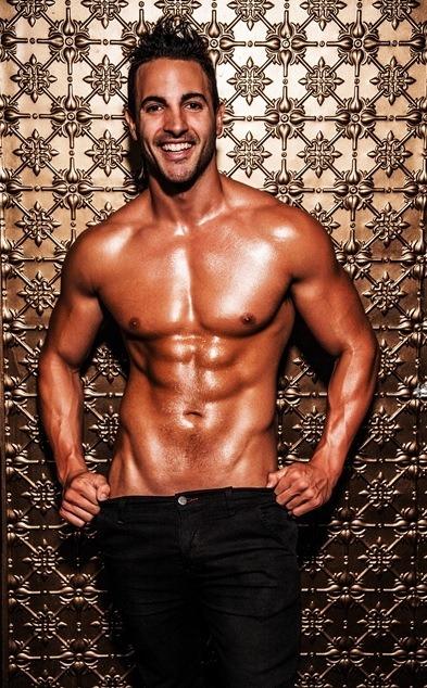 Male stripper Andrew