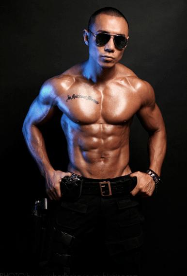 Male stripper Jay