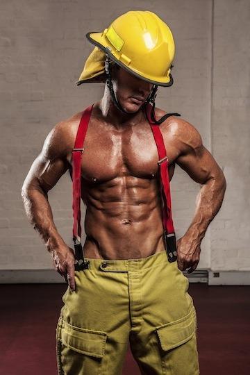Male stripper Marty