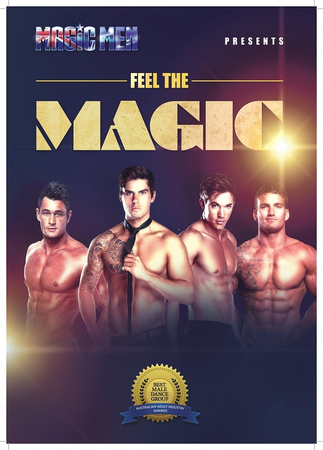 Melbourne's hottest male strip club