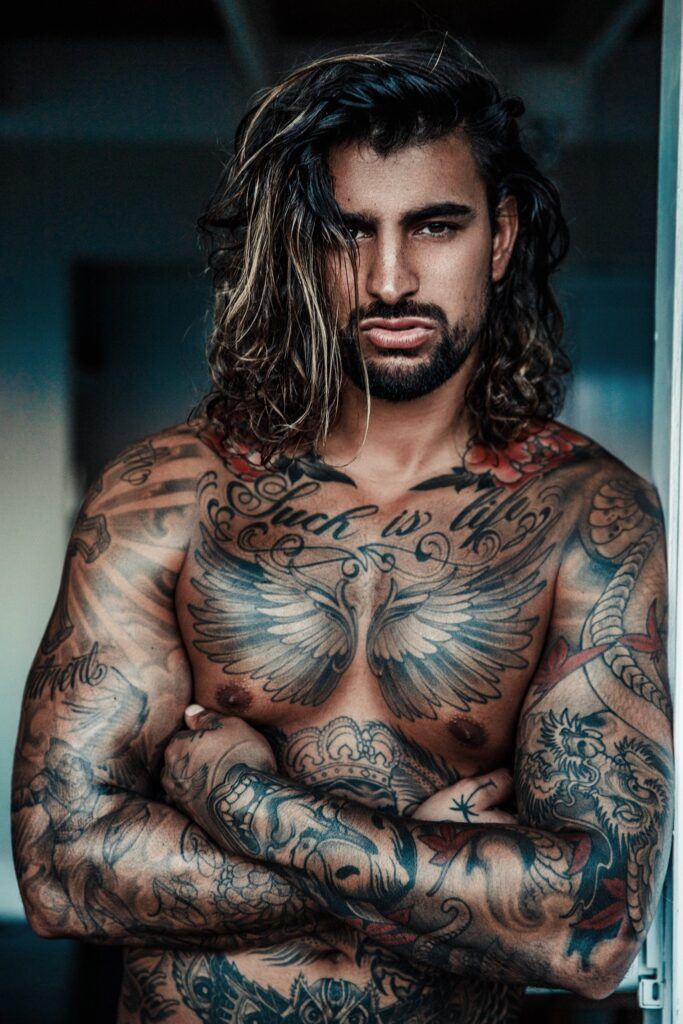 Jay Lam Tattooed male strippers in Brunswick
