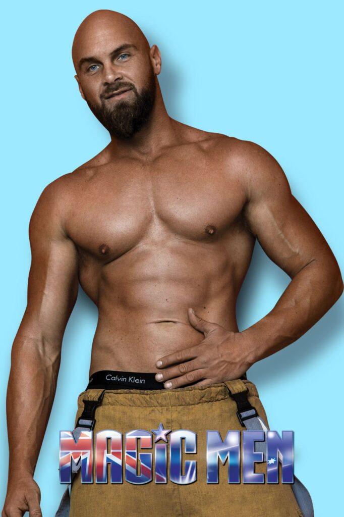 Diesel muscular male strippers Brunswick