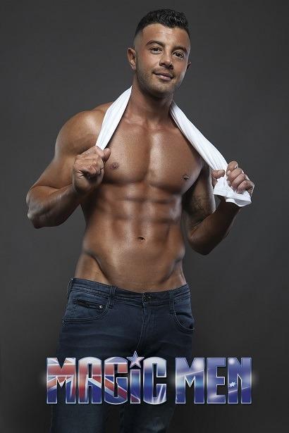 Chris sporty topless waiters in Brunswick